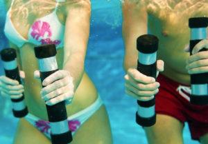 ginnastica in piscina rimini