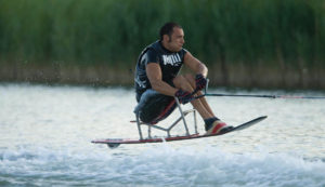 Emanuele Pagnini wakeboard training